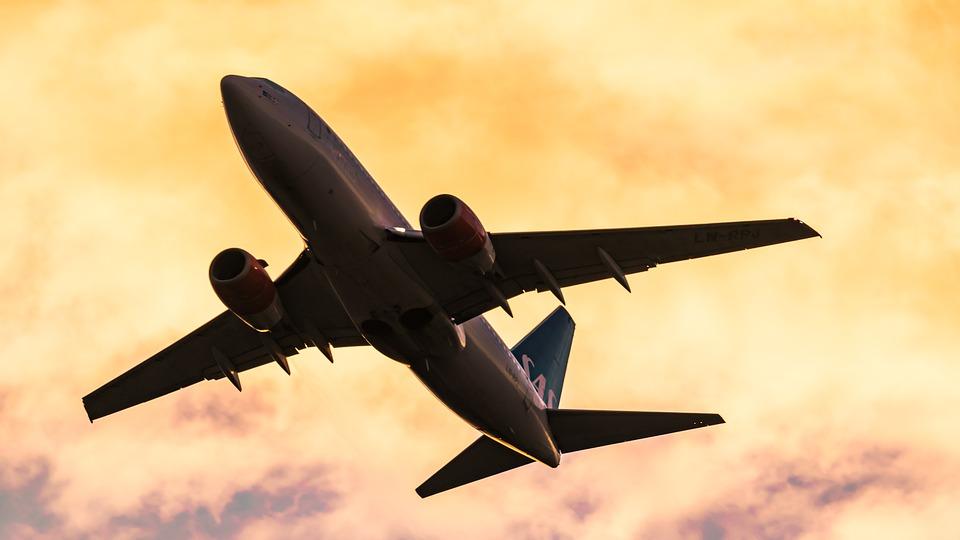 Avión en Noruega